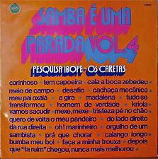 SAMBA E UMA PARADA VOL. 4-1973LP BRAZILIAN IMPORT COMPILATION