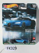 Hot Wheels HW Exotic Envy 16 Bugatti Chiron Blue 4/5 Fnqhotwheels Fk329