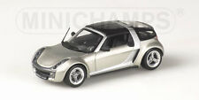 Smart Roadster Coupe' 2003 Silver Grey 1:43 Model 400032121 MINICHAMPS