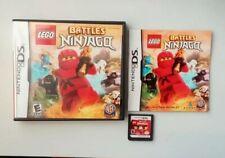 LEGO Battles Ninjago: The Videogame [Nintendo DS / Lite / DSi / XL Game] GENUINE