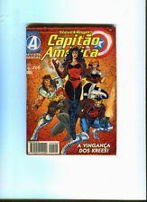 Capitào América 206 . Editora Abril  . 1996 . FN +