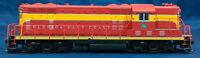LIFE-LIKE PROTO 2000 Florida East Coast #608. GP7 diesel loco -RARE DCC. RED