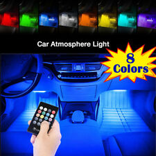 LED Interior Car Styling Foot Floor RGB Decorative Atmosphere Inside Neon Light