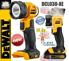 GENUINE DEWALT XR 14.4V PIVOTING LED WORK LIGHT DCL030-WXE BARE UNIT RRP$60