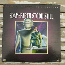 The Day the Earth Stood Still Special Collectors Laserdisc Robert Wise 8738-80