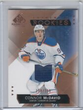2015-16 Connor McDavid SP GAME USED AUTHENTICS SPGU Rookie Jersey /399