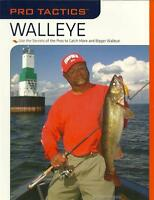 Pro Tactics Walleye Fishing Pros Secrets to Catch More & Bigger Walleye Book NEW