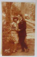 Frauen, Männer, Mode, Blumen,  1926 ♥  (53773)