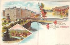GRUSS AUS TREPTOW BERLIN GERMANY POSTCARD (c. 1900)