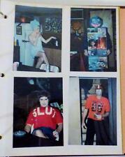 Politically Incorrect Halloween Costumes Photograph Album - 1980s-90s