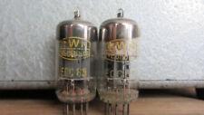 ECC85 RWN NEUHAUS 2pcs MATCHED  Double Triode Tube Tested 100% USED