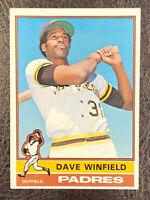 1976 Topps Dave Winfield #160 EX San Diego Padres HOF