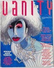 ROBERT MAPPLETHORPE Francois Berthoud DAVID BOWIE Vanity Illustration Magazine