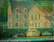 ANDRE*BOURRIE*LITHOGRAPHIE*ORIGINALE*SIGNEE*VOEUX*VISION*NOUVELLE*RARE*COLLECTOR