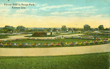 Kansas City,Mo. The Flower Beds in Swope Park