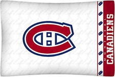 NEW Montreal Canadiens NHL Standard Microfiber Knit Pillowcase