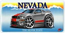 2006-09 Shelby GT500 Mustang Muscle Car-toon License Plate NEW