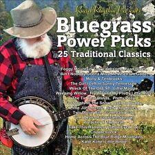 "BLUEGRASS POWER PICKS, CD ""25 TRADITIONAL CLASSICS"" NEW SEALED"