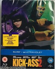 Kick Ass 2 Steelbook - UK limited Edition Bluray Steel Book