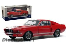 Solido 1:18 1967 Shelby Mustang GT500 Red with White Stripes Diecast S1802902