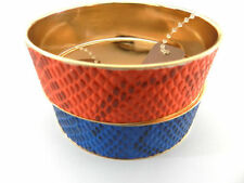 Enamel Yellow Gold Plated Fashion Bangles