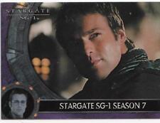 2005 Stargate SG1 Season 7 promo card P1