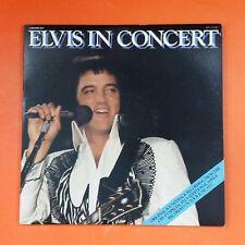 ELVIS PRESLEY In Concert APL22587 Dbl LP Vinyl VG+ Cover VG+ GF