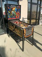 Williams Blackout Pinball Machine - Works great - LEDs - A Blast to Play! Shoppe