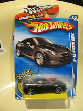 hot wheels Nissan Skyline GTR R35 2009 key chain included hotwheels