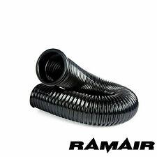 RAMAIR Cold Air Feed PVC Flexible Intake Pipe 1 Cap Induction 100mm 0.5m