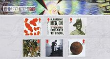 2015  ROYAL MAIL STAMP PRESENTATION PACK NO 555 THE GREAT WAR 1915