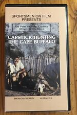 Sportsmen on Film Presents Capestick/Hunting the Cape Buffalo VHS Peter Hathaway