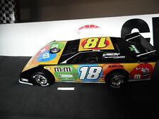 KYLE BUSCH #18 ROWDY  1/24 ADC DIRT LATE MODEL ,#DB211C499  1 OF 750
