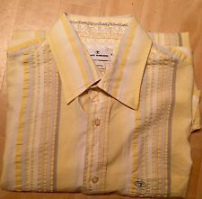 Original Tom Tailor Herrenhemd Gr M Hemd TOP Freizeithemd Mallorca Sommer Exotic