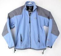THE NORTH FACE Full Zip Fleece Womens Pamir Jacket Blue & Gray Size L