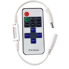 Control Remoto Inalámbrico DC12V  Interruptor Regulador Dimmer LED luz de tira