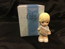 Precious Moments Miss You Figurine Boy mib 930031