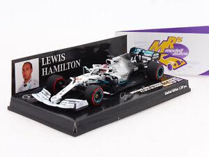 Minichamps 417191144 # Mercedes AMG-Petronas F1 W10 German GP 2019 Hamilton 1:43
