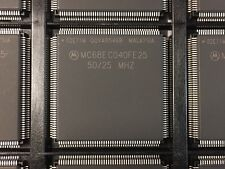 LOT OF (24) NEW MOTOROLA MC68EC040FE25 VINTAGE 32-bit microprocessors
