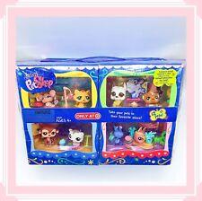 ❤️NEW IN BOX Littlest Pet Shop LPS TARGET EXCLSUIVE 12 Pets W Rares #748 #750❤️