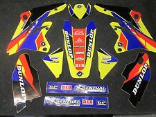 Suzuki RMZ250 2007-2009 Flu Designs PTS 2 Factory Team graphics  GR1536
