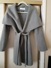 T Tahari Heather Gray Coat, Size S, Handmade,  Brand New!