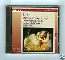 CD NEW RAVEL DAPHNIS & CHLOE HAITINK TANGLEWOOD BOSTON