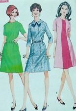 Vintage 1960s sewing pattern McCalls 9311 33 in bust 5 section dress uncut