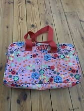 Oilily Pink Floral Print Patterned Shoulder Bag