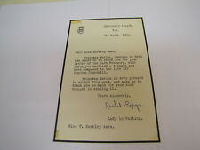 More details for lady rachel pepys original signed letter. ( princess marina lady in waiting )