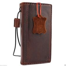 genuine real leather hard case for LG Nexus 5X wallet pouch luxury cover 5 x Art