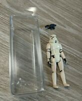 "Vintage STAR WARS ""STORMTROOPER"" Action Figure Hong Kong, Kenner 1977 With Gun"
