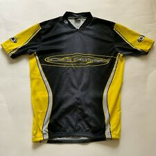 LOUIS GARNEAU Men Cycling Jersey Yellow Grey XL (see pictures for measurements)
