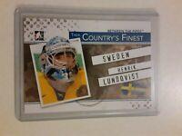 10/11 ITG BTP Their Country's Finest Henrik Lundqvist Hockey Card Insert